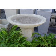 Contemporary Birdbath