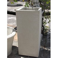 Flat Sided Pedestal Planter