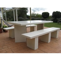 Milan Table (square edge)